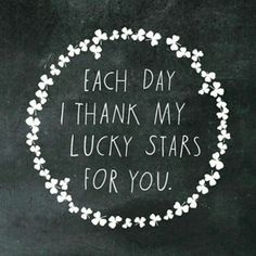 Lucky stars for you