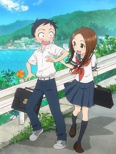 Karakai Jouzu no Takagi-san, sera adapté en Anime - le Dojo Manga Cosplay Anime, Girls Anime, Hot Anime Guys, Anime Kawaii, Manga Anime, Anime Art, Anime Amino, Sarada Uchiha, Animes Wallpapers