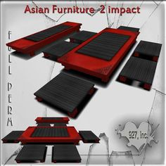 Mesh Asian furniture 2 impact full perm c