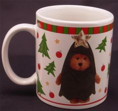 Bearware Pottery Boyds Collection Christmas 2004 Tree Bear Coffee Mug Tea Cup in Dolls & Bears, Bears, Boyds | eBay