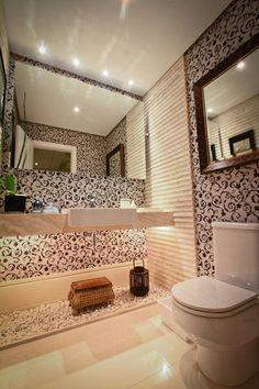 Criar um banheiro preto e branco não costuma ser uma tarefa fácil, mas o clássico nunca sai de moda e pode transformar o ambiente completamente!