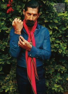That's what they call style, i call fucking awesome!  mensfashionworld:  Tony Ward by Gonzalo Machado for GQ Spain