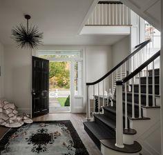 Foyer designed by Yvonne Ferris Interiors