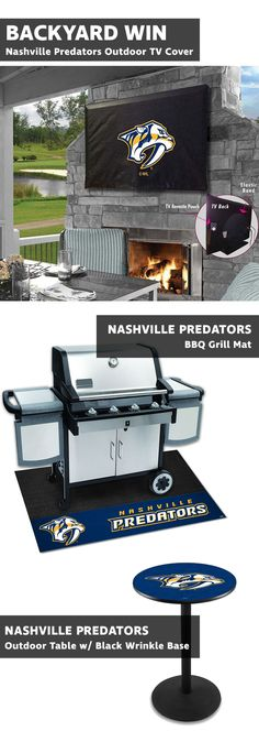 PICNIC TIME NHL Nashville Predators Whiskey Box Gift Set
