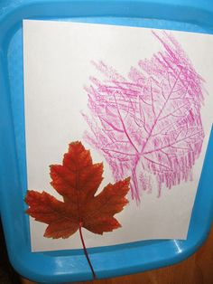 Special Guest Post: Heather Starr Fiedler from PittsburghMom blog on the The Brashear Kids Blog: leaf rubbings and other fall activities to do with your kids