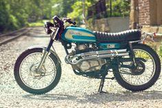 Custom 1974 Honda CL 200 by Dan Mantyla