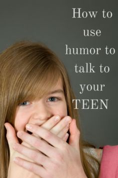 Using humor to talk to teens about some serious stuff can make it easier--on everybody. Of course, it isn't always easy to keep cool and maintain a sense of humor when subjects like drugs or sex comes up in a conversation with your teen.