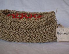 fefdbd196 Artículos similares a Bolsos, bolso de cuerda, saco gorros tejido,  pañaleras, bolsa de ganchillo, bolso del mercado, bolso de totalizador,  bolso de la playa ...