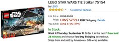 Amazon Canada LEGO Offers: Save up to 41% on LEGO Star Wars Now From $10.39 https://www.lavahotdeals.com/ca/cheap/amazon-canada-lego-offers-save-41-lego-star/242637?utm_source=pinterest&utm_medium=rss&utm_campaign=at_lavahotdeals&utm_term=hottest_12