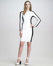 3.1 Phillip Lim Ponte-Jersey Shadow Dress