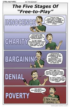 The Five Stages of Free to Play