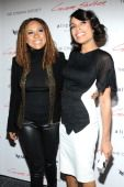 Rosario Dawson and Tracie Thoms who shared credits with both in Rent