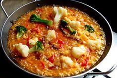 Como Hacer Paella Vegetariana Estilo Colombiano, Blog de Recetas