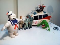 Vintage collection of Original Ghostbusters toys  1984 by Bee77, $190.00