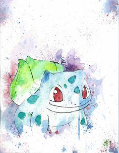 Bulbasaur - Pokemon By: Joseph Kennedy - JK iMAGES prints available here>> https://www.etsy.com/listing/215030771/bulbasaur-pokemon