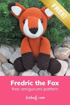 Fredric the Fox Free Amigurumi Pattern