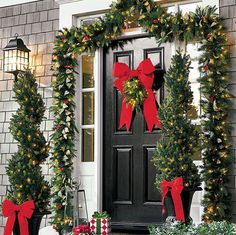 Christmas Decorations - Christmas Decor - Holiday Decorations - Grandin Road