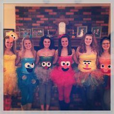 Sesame Street Halloween costumes!!!!
