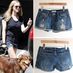 Women Shorts Spring Summer Fashion Short Pants Denim Jeans Shorts Female Hot Pants With Hole