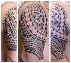 polynesian tribal freehand  irish street tattoo downpatrick belfast northern ireland