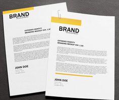Free Download  Corporate Letterhead PsdAiEpsPdf