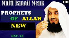 #NEW MUFTI MENK Lecture 2017┇Prophets Of ALLAH┇Mufti Menk & Yasir Qadhi ...