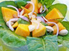 Pumpkin Salad with NuNatural's Orange Lemon Vinaigrette