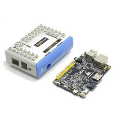 Banana Pro Development Board + ABS Case - Blue + Gray. What is a Banana Pro?? Banana Pro™ is an updated version of Banana Pi™ designed by the LeMaker Team. Try Banana Pro™ today and take advantage of the many enhanced features. Banana Pro™ is compatible with many Linux-based operating system and has many distributions specially developed for Banana Pi™ Hardware. Some of these distributions include Lubuntu, Android, Debian, Bananian, Berryboot, OpenSuse, Scratch, Fedora, Gentoo, Open…