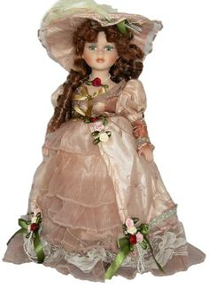 Victorian Porcelain Doll-Stunning Victorian doll-Porcelain Victorian Doll-Zoe