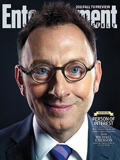 Michael Emerson. What, me worry? I'm so happy to see this series continuing!  I've decided when I adopt a couple of cats, I'll name them Reese & Finch!  :-)