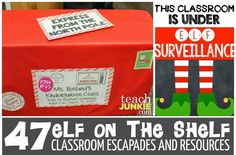 How+to+Welcome+the+Elf+on+the+Shelf+into+Your+Classroom+-+Teachjunkie.com