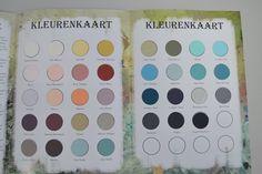 Nieuwe kleurenkaart ASP