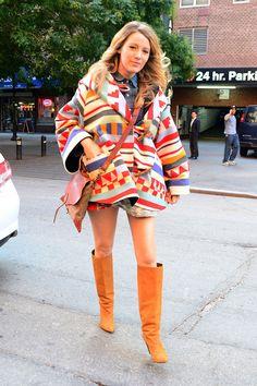 Blake Lively Pregnancy Style - Blake Lively Fashion - Elle