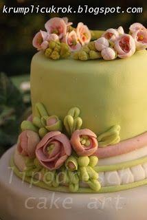 green rose cake Rose Cake, Wedding Cake Inspiration, Floral Cake, Green Rose, Pastel Colors, Fondant, Wedding Cakes, Alice, Anna