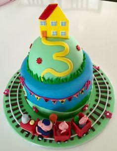 Gâteau Peppa Pig par Les merveilles de Sophie