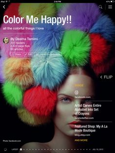 Flip through Color Me Happy!! by Deema Tamimi http://flip.it/4DSoq