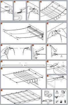 Wave Shades (Retractable Shades) Ready Made Sizes | Shade Sails LLC: