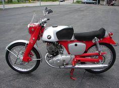 1960 Honda CB92 Benly Super Sport
