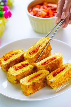 Korean Kimchi Omelette Gilded Gingerbread