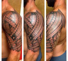 IG TattooRich #polynesian #tattoo