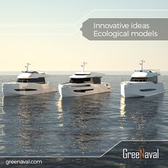The future will be built on ‪#‎renewable‬ ‪#‎energy‬ and ‪#‎environmental‬ conscience. As GreeNaval, we believe in that and continue our work with innovative and foreseeing consciousness. www.greenaval.com ‪#‎green‬ ‪#‎boat‬ ‪#‎yacht‬ #greenaval #electricyacht #solarboat #aluminiumboat