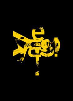 David Carson Design – Typographic treatment for Western Union rebranding, 2009