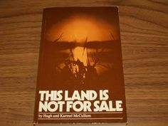 This Land is not for Sale - Halifax Books - Used books , Rare Books , text books located in Halifax Used Books, Textbook, Class Books