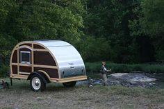 Woodie Teardrop Camper