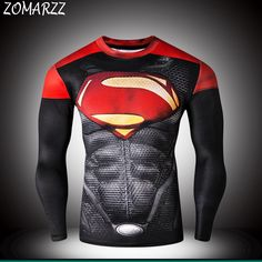 Find More T-Shirts Information about Fitness Superman 3D Printed T shirts Men Long Sleeve Cosplay Costume Clothes Male Tops For Halloween,High Quality t-shirt skateboard,China t-shirt digital Suppliers, Cheap t-shirt skirt from Zomarzz Superhero Store on Aliexpress.com