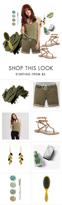 """""""Love My Green.."""" by marlenajo-b ❤ liked on Polyvore featuring Bobbi Brown Cosmetics, Mossimo, SM New York, Atelier Maï Martin, Burberry, Terre Mère, Drybar and WEAREJUSTGIRLS"""