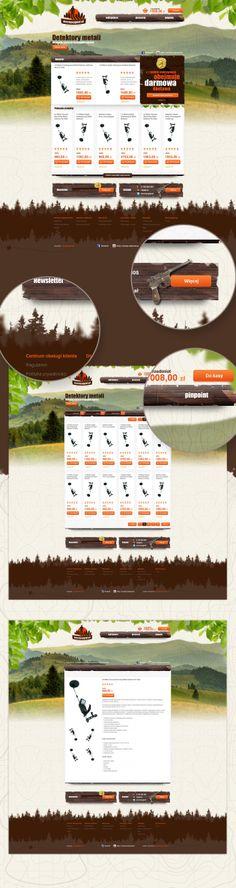 pl by Karol Sidorowski, via Behance Web Inspiration, Web Design, Behance, Design Web, Creativity, Website Designs, Site Design