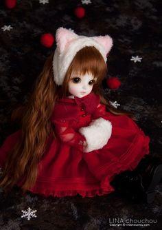 Snowcat Miu bjd by LINA chouchou Cute Girl Hd Wallpaper, Cute Love Wallpapers, Cute Cartoon Wallpapers, Cute Couple Cartoon, Cute Cartoon Girl, Cute Baby Dolls, Cute Baby Girl, Kawaii Doll, Kawaii Anime Girl