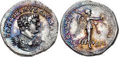 An Exceptional Roman Silver Denarius of Domitian as Caesar…   Flickr