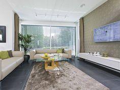 Wohnzimmer - Musterhaus Citylife 250
